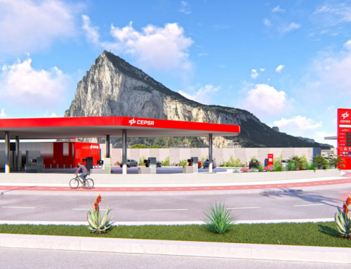 Cepsa Gibraltar plans for new petrol filling station next to airport & on same road as runway tunnel