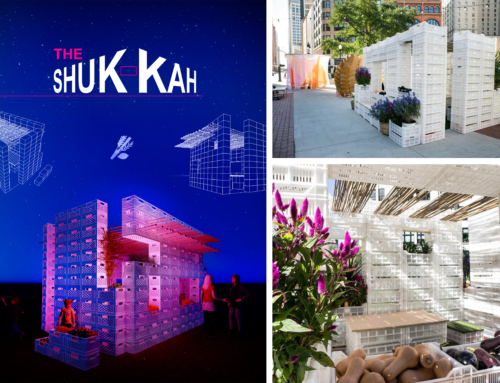 Gamma Architects win USA design competition for temporary street 'Sukkah'