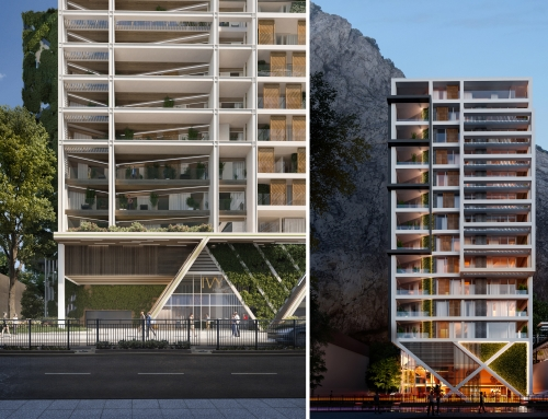 Gamma Obtains Planning Permission for Two Residential Buildings with Green Vision